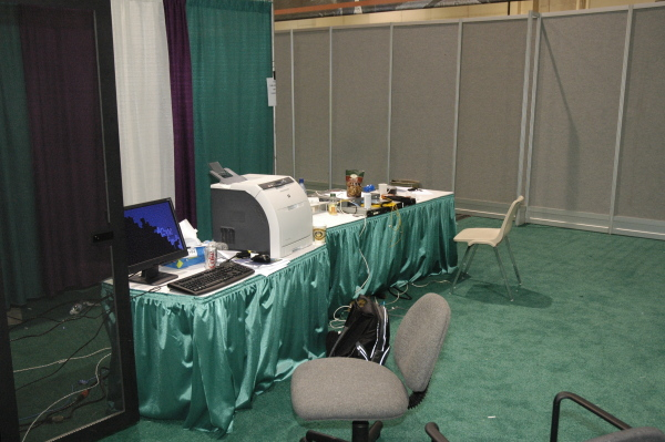Judging/organizer station